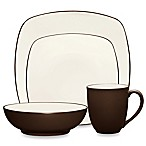 Noritake® Colorwave Square Dinnerware Collection in Chocolate