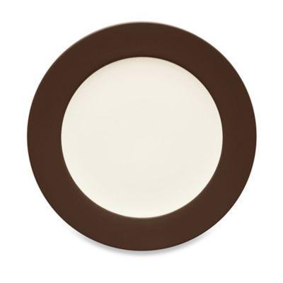 Noritake® Colorwave Rim Dinner Plate in Chocolate  sc 1 st  Bed Bath u0026 Beyond & Buy Wave Dinner Plate from Bed Bath u0026 Beyond