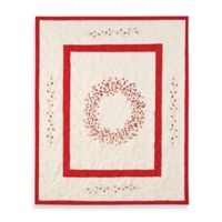 Berry Wreath Quilted Throw