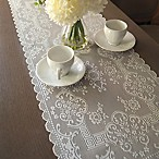 Downton Abbey® Grantham Collection Lace 14-Inch x 36-Inch Table Runner