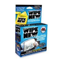 Wipe New® Headlight Restorer