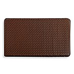 GelPro® Classic 20-Inch x 32-Inch Basketweave Kitchen Mat in Truffle