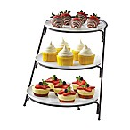 B. Smith® 3-Tier Server with Graduated Size Plates