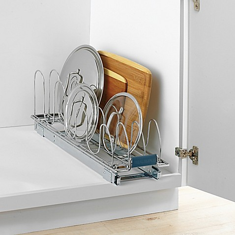 image of Real Simple® Roll-Out Lid Organizer