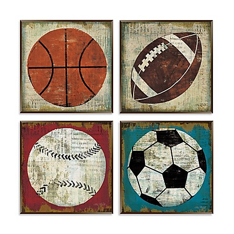 Superieur Vintage Sports Wall Art
