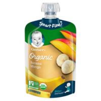 Gerber® 2nd Foods® Organic Banana Mango Puree Pouch 3.5 oz.