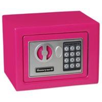 Honeywell Digital Steel Security Safe in Pink