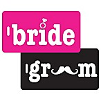 Bride & Groom 2-Piece Bag Tag Gift Set