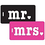 Mr. & Mrs. 2-Piece Bag Tag Gift Set