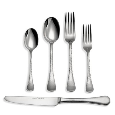 this review is fromginkgo lafayette 45piece flatware set - Stainless Steel Flatware