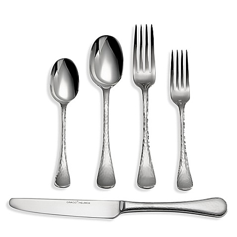 Ginkgo Lafayette 45-Piece Flatware Set - Bed Bath & Beyond