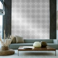 Tempaper® Double Roll Removable Wallpaper in Medallion Platinum