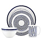 kate spade new york Charlotte Street™ West 4-Piece Place Setting in Indigo