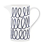 kate spade new york Charlotte Street™ Pitcher in Indigo