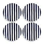 kate spade new york Charlotte Street™ Tidbit Plates (Set of 4) in Indigo