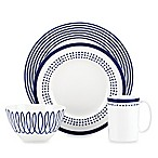 kate spade new york Charlotte Street™ East 4-Piece Place Setting in Indigo