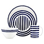 kate spade new york Charlotte Street™ North 4-Piece Place Setting in Indigo
