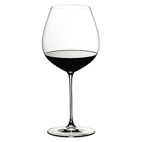 Riedel 174 Veritas Old World Pinot Noir Wine Glasses Set Of