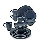 Mikasa® Swirl 16-Piece Dinnerware Set in Blue