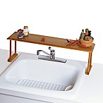 Lipper International Over-The-Sink Bamboo Shelf