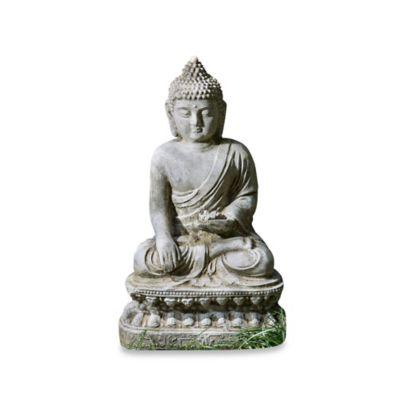 Campania Seated Lotus Buddha Garden Statue