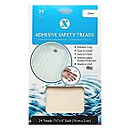 7.5-Inch Clear 24-Pack Applique Bath Tread Strips