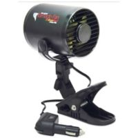 RoadPro 12-Volt Tornado Fan with Mounting Clip