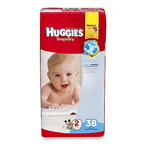 Huggies 174 Snug Amp Dry 38 Count Size 2 Jumbo Pack Diapers