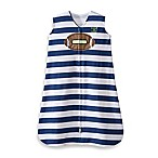 HALO® SleepSack® Small Cotton Wearable Blanket in Navy Football