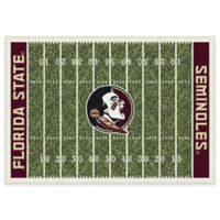 Florida State University 5-Foot 4-Inch x 7-Foot 8-Inch Medium Home Field Rug