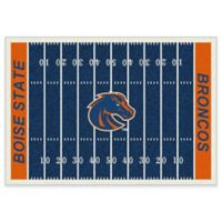 Boise State University 5-Foot 4-Inch x 7-Foot 8-Inch Medium Home Field Rug
