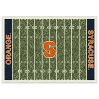 Syracuse University 3-Foot 10-Inch x 5-Foot 4-Inch Small Home Field Rug