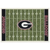 University of Georgia 7-Foot 8-Inch x 10-Foot 9-Inch Large Home Field Rug