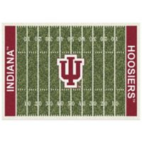 University of Indiana 7-Foot 8-Inch x 10-Foot 9-Inch Large Home Field Rug