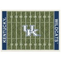 University of Kentucky 7-Foot 8-Inch x 10-Foot 9-Inch Large Home Field Rug