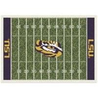 LSU 7-Foot 8-Inch x 10-Foot 9-Inch Large Home Field Rug