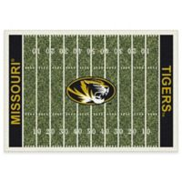 University of Missouri 7-Foot 8-Inch x 10-Foot 9-Inch Large Home Field Rug