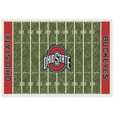 Ohio State University Small Home Field Rug