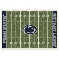 Penn State University 3-Foot 10-Inch x 5-Foot 4-Inch Small Home Field Rug