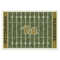 University of Pittsburgh 3-Foot 10-Inch x 5-Foot 4-Inch Small Home Field Rug