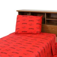 University of Arkansas King Sheet Set