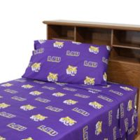 Louisiana State University King Sheet Set