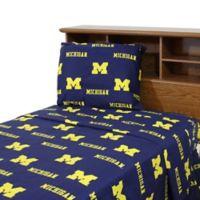 University of Michigan Sheet Set