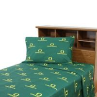 University of Oregon King Sheet Set