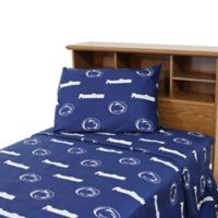 Penn State University Twin Sheet Set