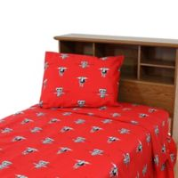 Texas Tech University King Sheet Set