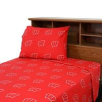 University of Wisconsin King Sheet Set