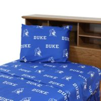 Duke University Queen Sheet Set