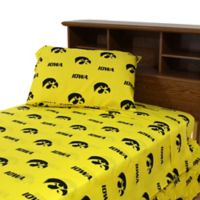 University of Iowa King Sheet Set