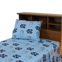 University of North Carolina Twin Sheet Set
